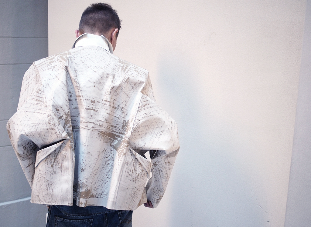 The Origami Jacket Is Part Of Lamin Marongs Master Arts Degree Collection In Aalto University I Stopped By At His Showroom December And Fell