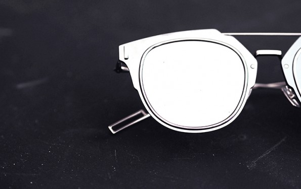 DIOR Silver mirrored sunglasses
