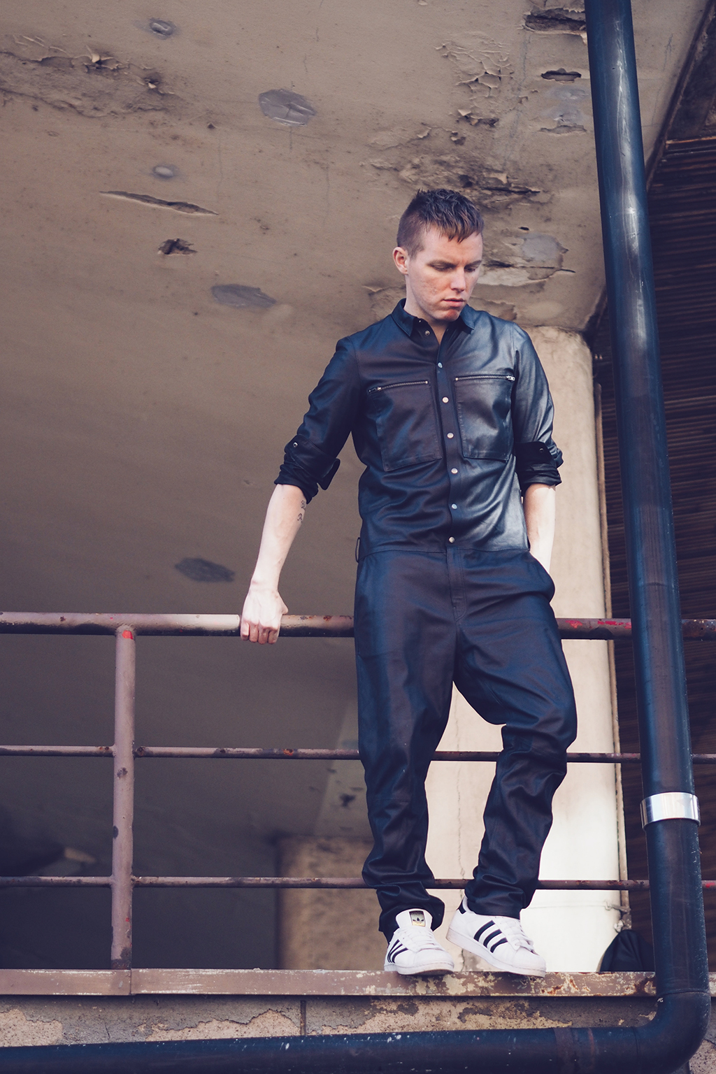 H&M Studio AW14 Leather Boiler Suit