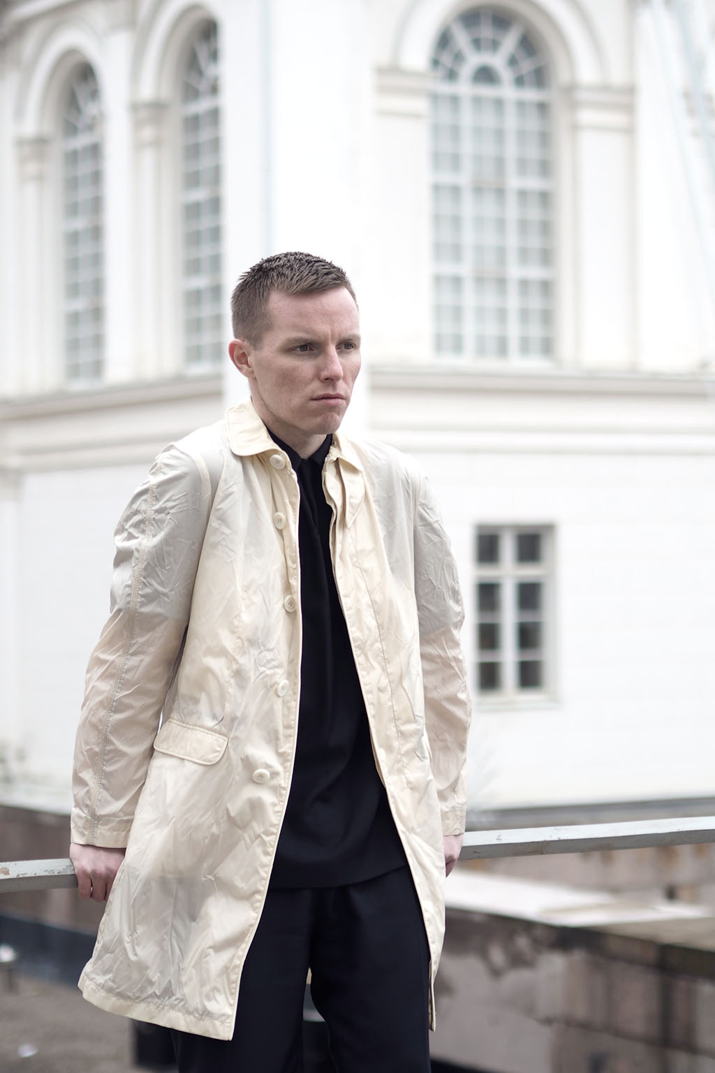 Tiger of Sweden see-trough anorak