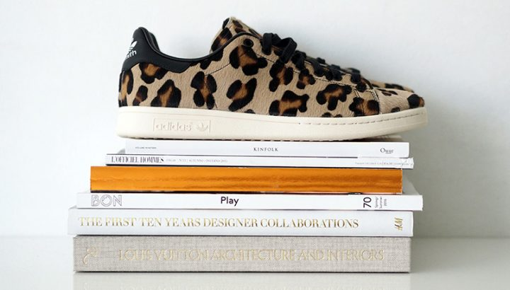 adidas stan smith leopard print