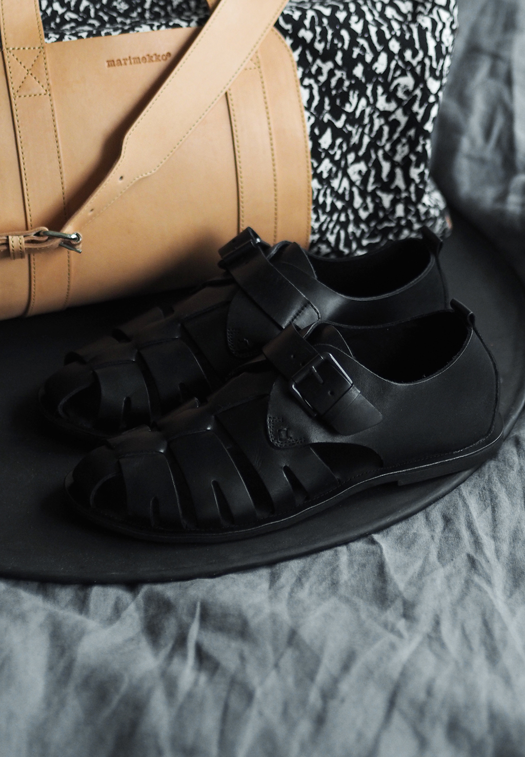 Zign leather sandals