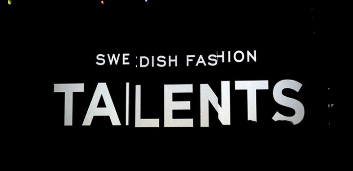 FWSTOCKHOLM: SWEDISH FASHION TALENTS 2016