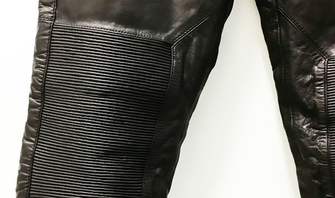 H&M Leather trousers