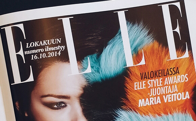 Elle editorial liftup
