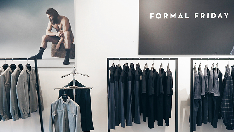 Formal Friday Pop-Up Store