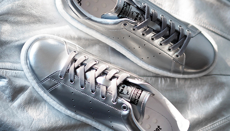 Stan Smith Silver Boost Shoes